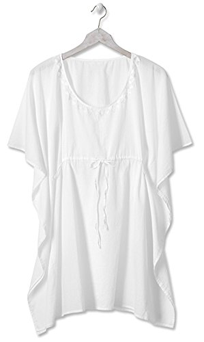 Cotton Cover Butterfly Up - Orvis Butterfly-Style Cotton Cover-up, White