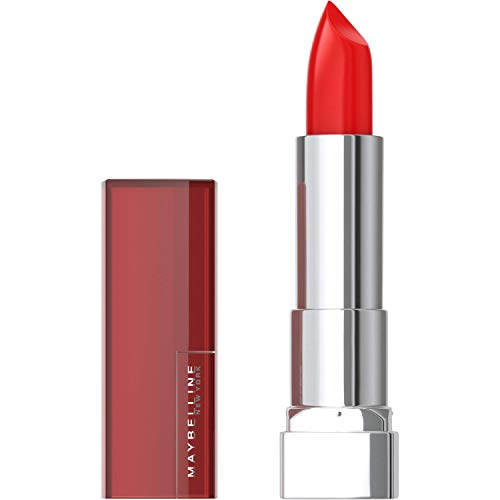Maybelline New York Color Sensational Red Lipstick, Satin Lipstick, On...