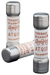 Mersen ATQ Amp-Trap Time-Delay Midget Fuse, 500VAC, 10kA, 2-1/8 Ampere, 13/32