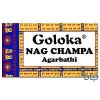 Goloka (Gold) Nag Champa Incense - 1 Kilogram Box - incensecentral.us