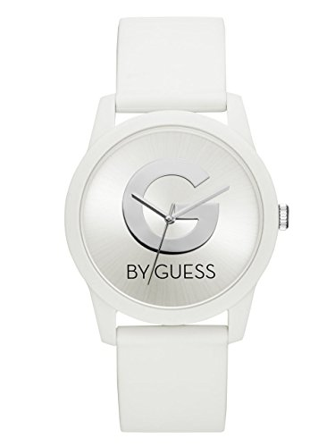 G-by-GUESS-Womens-White-Logo-Watch