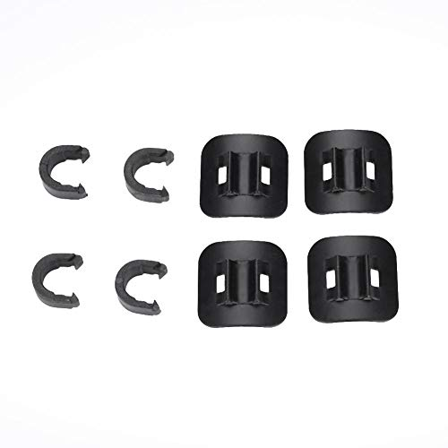 T-best Rotating S-Hook Clips for MTB Road Mountain Bike Guide. ()