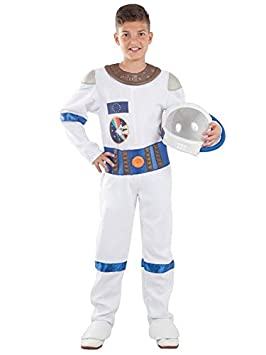 DISBACANAL Disfraz de Astronauta para niño - Único, 12 años