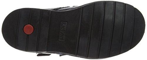 Kickers Jungen Orin Twin Boot Stiefel Schwarz (Black)