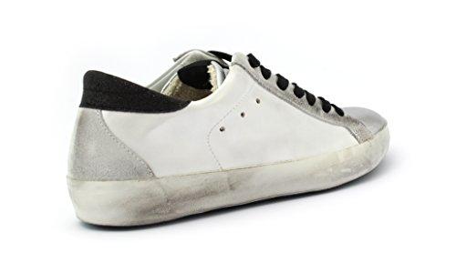 Sneaker 4barra12 Suprime 2068 White/Silver