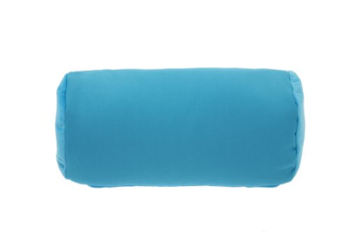 Deluxe 2 & 1 Travel Squish Microbead Pillow, Blue