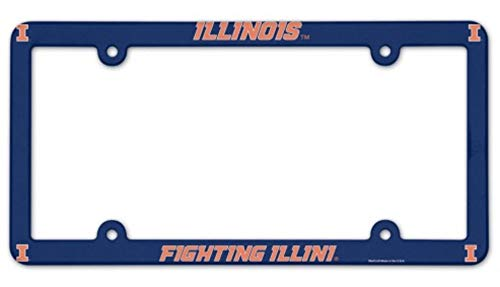 NCAA License Plate with Full Color Frame, University of -