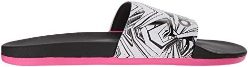 White Black Pink CF W Performance adidas Mono Adilette Women's Shock 1WwqgnHZT