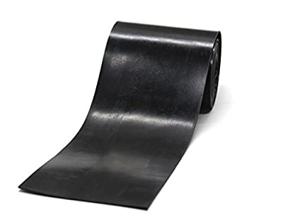 Neoprene Rubber Strip Black,Heavy Duty, Gaskets DIY Material, Supports, Leveling, Sealing, Bumpers, Protection,Abrasion, Flooring
