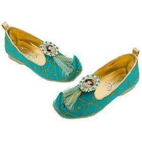 Disney Princess Jasmine Costume, Dress Up, Shoes Slippers Girl ...