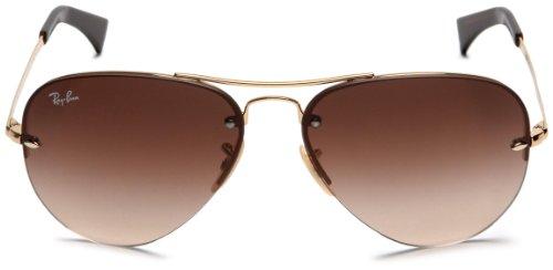 Ban Rb mixte lunettes 3449 Gold Montures Marron adulte de Ray 59 7qwT7