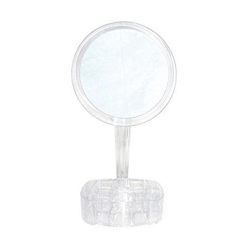 7x Magnified Makeup Mirror with Cosmetic Organizer Base ToiletTree Products TTP-CTM-2