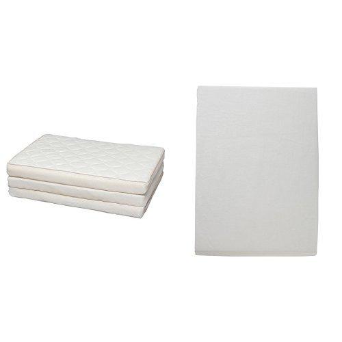 【セット買い】アイリスオーヤマ エアリーマットレス ハイブリッド 高反発 ダブル ホワイト HB90-D + ボックスシーツ日本製 綿100% ブロード生地 通気性 ダブル ミルキーホワイト B0751KLSHC