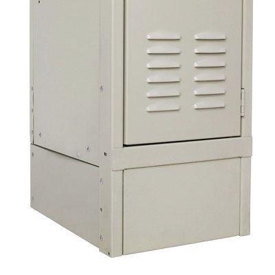 Closed Side Base Color: Parchment, Size: 24