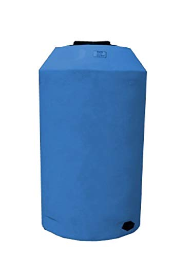 WECO Atmospheric Water Storage Tank for Potable Water (Blue) (500 Gal) ()