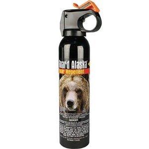 2. Bear Guard Alaska Bear Pepper Spray 9 Ounce Can with Nylon Holster