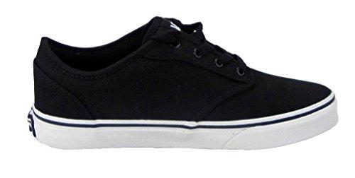 vans shoes black and white boys. vans shoes atwood canvas black/white 0ki5187 kids size 10.5 black and white boys i