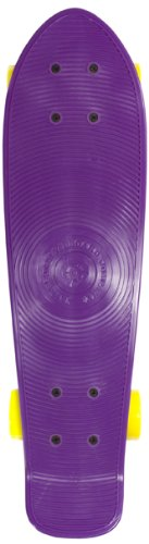 Stereo Remix Skateboards Vinyl Cruiser Plastic Complete Remix Skateboard - Remix Purple