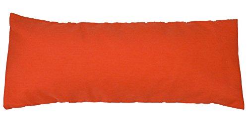 Natural Mustard Buckwheet Pillow Orange
