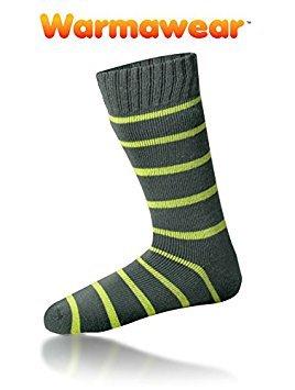 Warmawear Thermal Socks with Stripes (Medium / Large)