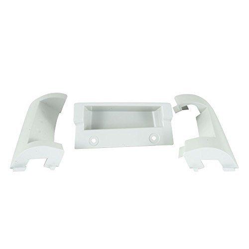 Genuine 8530070 Whirlpool Dryer Dryer Door Reverse Kit (Platinum) (item_by#overdealz; TRYK18252348721501 Duet Door Reversal Kit
