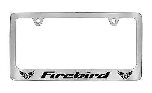 Pontiac Firebird Chrome Metal license Plate Frame Holder
