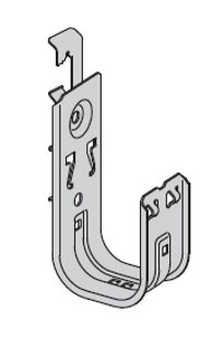 BCH32-W2 - B-Line Cable Hook to Rod Hanger; 2