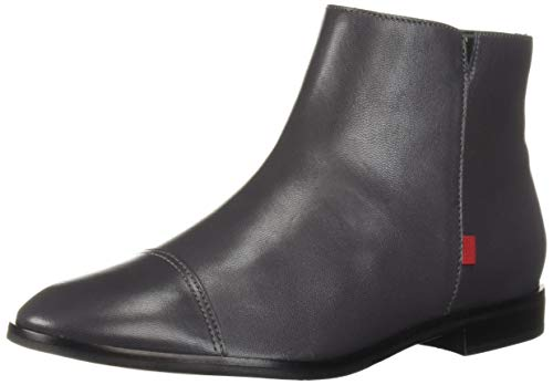 MARC JOSEPH NEW YORK Womens Leather Made in Brazil Soho Bootie Ankle Boot, Grey Nappa, 7.5 B(M) US