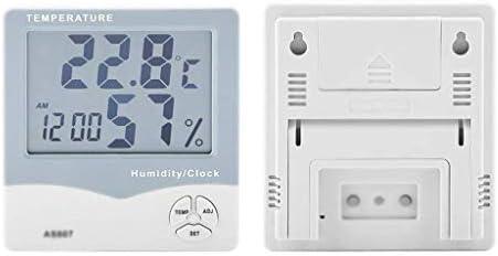 JJZXT Digital Hygrometer Thermometer und Feuchtemessgerät mit Temperatur-Feuchtigkeits-Monitor
