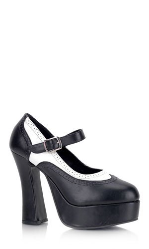 (Demonia Women's Dolly 57 Black Fashion Pumps 8 M)