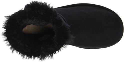 Mini Australia Black Souples Bottes Bling Bailey Button UGG Femme pfxgxv
