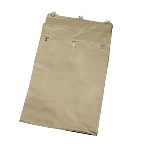 Boss Cleaning Equipment B010090 Replacement Tan Terylene Bag for Metal X-Frame Cart by Boss Cleaning Equipment
