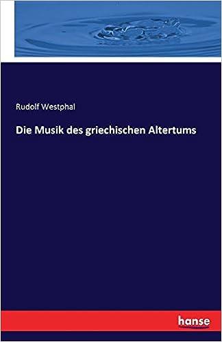 Book Die Musik des griechischen Altertums