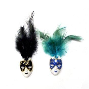 Masquerade Mask Magnet - Turquoise