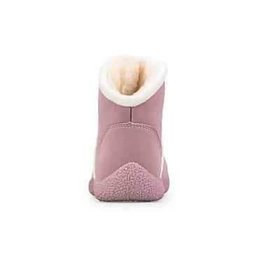 Wsx & Plm Femmes-bottines-loisirs / Casual / Sports-confortable-flat-daim-noir / Marron / Jaune / Vert / Rose, Us8 / Eu39 / Uk6 / Cn39