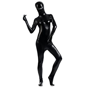 - 319 2BAqNl04L - Ensnovo Womens Shiny Lycra Full Body Color Body Suits Zentai Costume
