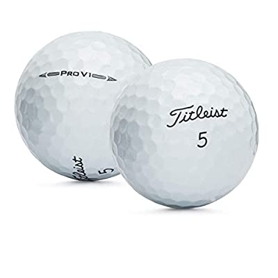 Titleist 50 ProV1 2016 - Near Mint (AAAA) Grade - Recycled (Used) Golf Balls