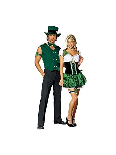 Dreamgirl DG-DS4481 Get Lucky Leprechaun Male Costume