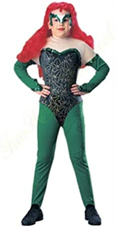 Batman & Robin Disfraz de Hiedra venenosa Lujo para niños (Edad 8 ...