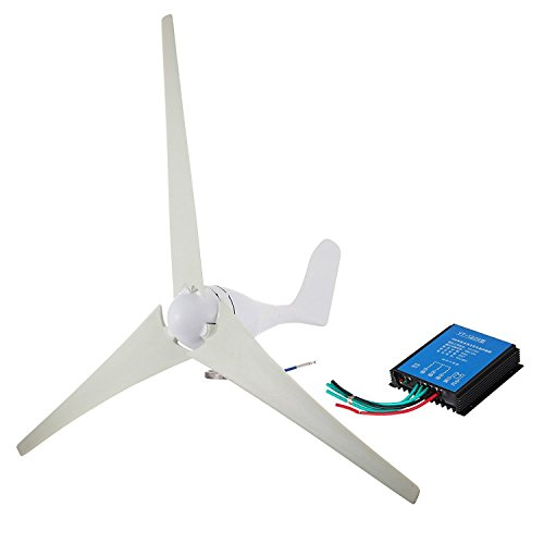 - VEVOR Wind Turbine 400Watt Wind Turbine Generator DC 12V Wind Turbine Generator 3/5 Blades with Controller (400Watt)