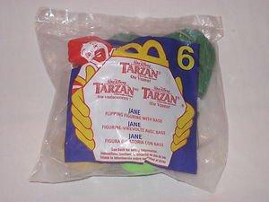 Jane Flipping Figurine with Base - 2000 McDonald's Happy Meal Tarzan on Video Series #6