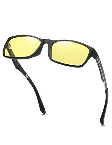 (DUCO Anti UV Glare Harmful Blue Light Computer Glasses Readers 223 (Black))