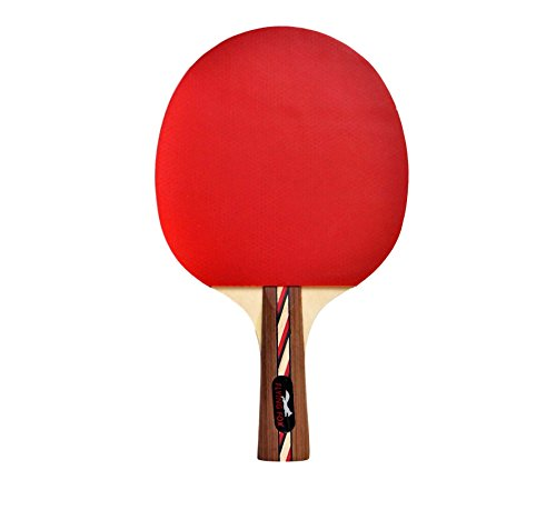 Table Tennis & Ping Pong Paddles Set with Carry Case - Professional Quality Racket with Flared Wood Handle for Novice to Semi-Pro by Flying Fox Paddles by Flying Fox (Image #5)