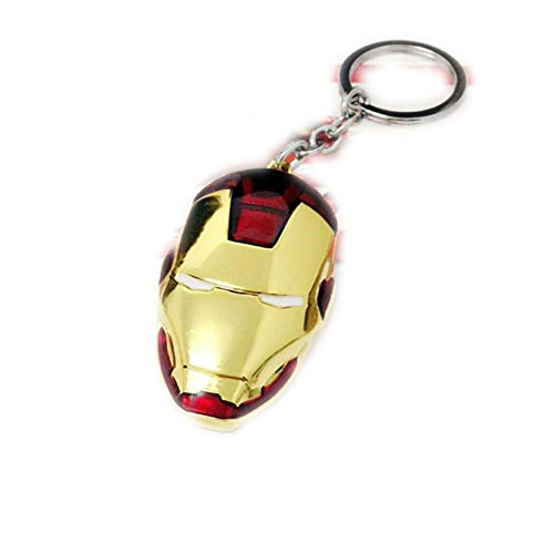 res Super Heros Spiderman Ironman Hulk Thor Hammer Keychain Toys Action Figure Home Decor Desk Toys Christmas Toys for Children ()