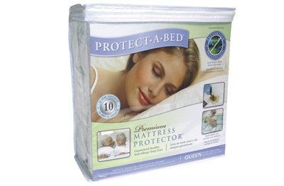 AllerZip Smooth Waterproof Bed Bug Proof Zippered Bedding Encasement, Full, (Fits 12 - 18 in. ()