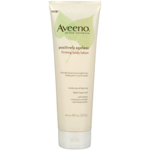Positively Ageless Firming Body Lotion, 8 Ounce -- 12 per case. by Aveeno