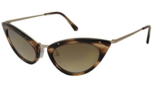 Tom Ford Grace Sunglasses, Havana by Tom Ford