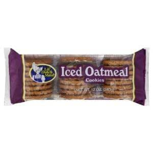 Iced Oatmeal Cookies 4 12 oz: Amazon.com: Grocery & Gourmet Food