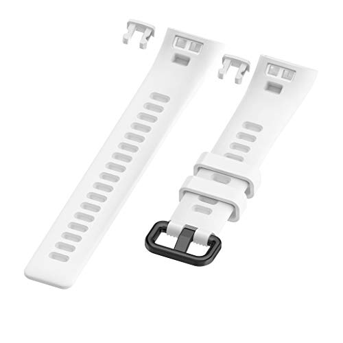 Price comparison product image MChoiceSports Silicone Strap Band Wrist Strap Bracelet for Huawei 3 / 3Pro Smart Watch (White)