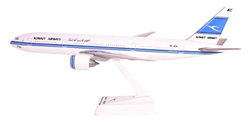 Kuwait 777-200 Airplane Miniature Model Plastic Snap-Fit 1:200 Part# ABO-77720H-019 (Certified Refurbished)
